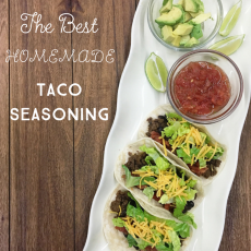 The Best Venison Tacos with Homemade Seasoning